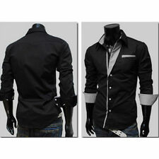Unbranded Cotton Blend Western Casual Shirts for Men