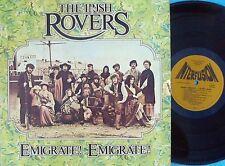Irish Rovers ORIG OZ LP Emigrate! Emigrate! EX '74 Irish Folk Celtic Folk