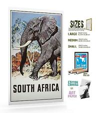 SOUTH AFRICA 2 VINTAGE TRAVEL POSTER