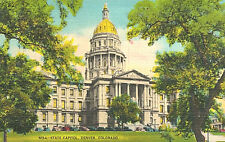 VIntage Postcard-State Capitol, Denver CO,   N154