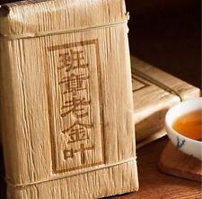 2008,Yunnan Puer tea brick Menghai classic old ban zhang  gold leaf 250g Premium
