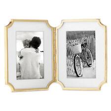 kate spade new york Sullivan Street Gold Hinged Double Photo Frame