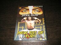 New Fist of Fury (Fury Oriental II) DVD Jackie Chan Sealed New