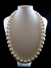 Collana donna lunga Cm.63  Perle Scaramazze Barocche 13/15mm. ,Chiusura Argento