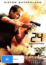 Kiefer Sutherland 24 REDEMPTION DVD (NEW & SEALED)