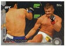 2015 Topps UFC Chronicles Silver Parallel #163 Daron Cruickshank
