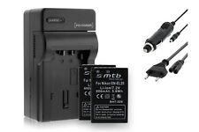 2x Baterìas EN-EL20 ENEL20 + Cargador para Nikon V3 / Coolpix A