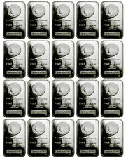 Lot of 40 Bars - Morgan Dollar Design 1 Troy Oz .999 Fine Silver Bar SKU29389