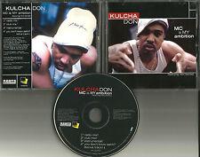 KULCHA DON Mc is My Ambition 2 RARE MIXES & INSTRUMENTAL & UNRELEASED PROMO CD