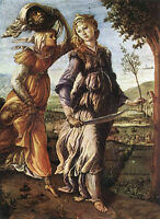 """Oil painting Sandro Botticelli - The Return of Judith to Bethulia canvas 36"""""""