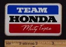 1979 MARTY TRIPES TEAM HONDA Vintage Motocross STICKER Decal CR250R CR125R CR500