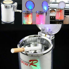 Colors Auto Portable Car Travel LED Light Cigarette Cylinder Ashtray Holder Cup