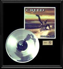 Creed Human Clay Rare Gold Record Platinum Disc Lp Album Frame