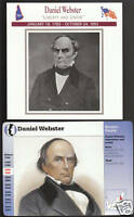 DANIEL WEBSTER New Hampshire STORY OF AMERICA 2 CARDS
