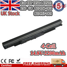More details for for hp laptop battery spare 807956-001 807957-001 hs03 hs03031 hs04