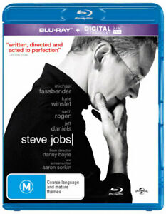 STEVE JOBS (2015) [NEW BLURAY]
