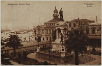 VALPARAISO Chile Postkarte 1920 Ansichtskarte Südamerika Arturo Prat Monument