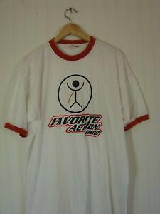 favorite action hero ringer t-shirt gil mantera's party dream