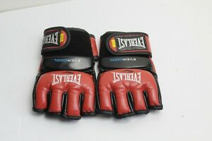 Everlast Ever Cool MMA Grappling Gloves Size L/XL Red and Black