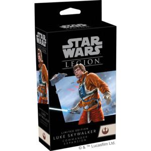 Star Wars Legion Limited Edition Luke Skywalker Commander Expansion NIB