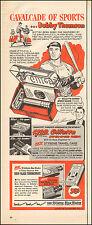 1953 Vintage ad for Gillette Blades`Bobby Thomson Giants Baseball (062616)