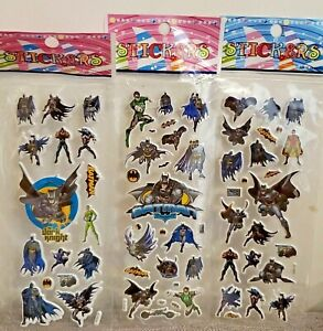 Batman Stickers for Loot Bag Birthday Party sticker 10 sheets