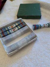 Japanese Ceramic Chopstick Rest Spoon Fork Hashi Holders - set of 5