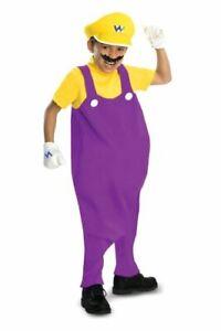 Wario Costume Size: Toddler