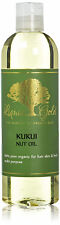 12 Oz Liquid Gold Kukui Nut Oil 100 % Pure & Organic for Skin Hair and Health