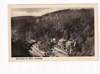 uralte AK Alexisbad im Harz Bahnhof 1957 //37