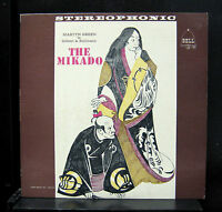 Gilbert & Sullivan - The Mikado LP VG+ SBLP 31 Stereo Bell 1961 Vinyl Record