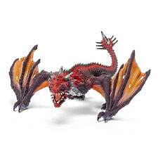 Schleich 70509 Dragon Fighter (IL MONDO DEI CAVALIERI) Figura in Plastica