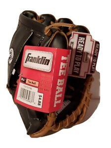 "Franklin Toddler Tee Ball Baseball Glove 8 1/2""  Left Hand  New"