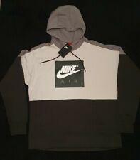 Nike Air Mens Sportswear Pullover Fleece Hoodie Dark Green Size L Brand New