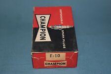 UJ18Y  UJ-18Y Champion Spark Plugs NOS Box of 10 With Warranty Card And Sticker