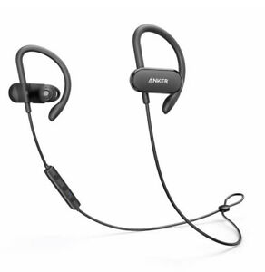 Anker Soundbuds Curve Wireless Waterproof Built-In Microphone In Ear A3411 New