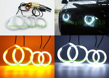 Dual Color WH&YE Cotton Halo Rings For MAZDA 6 MPS Mazdaspeed Atenza Angel Eyes