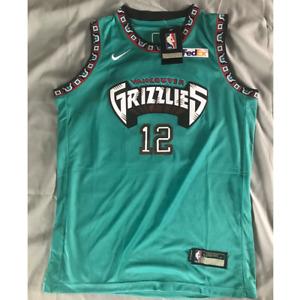 Kids - Ja Morant #12 Memphis Grizzlies Green Swingman Throwback Jersey SIZE M-XL
