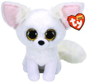 Brand New TY Beanie Boo Regular Phoenix The White Fox - Soft Toy