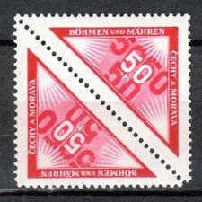 Germany / Bohmen und Mahren - 1939 Due / personal delivery Mi. 15 pair MH