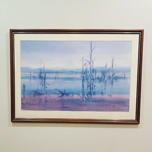 VINTAGE 1985 Watercolour by John Borrack PICK UP ONLY