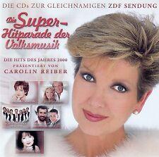 DIE SUPER-HITPARADE DER VOLKSMUSIK - DIE HITS DES JAHRES 2000 / 2 CD-SET