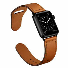 Retro Genuine Leather Apple Watch Band Classic Strap for iWatch Series 4 3 2 1