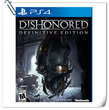 PS4 Dishonored: Definitive Edition SONY PLAYSTATION Games Action Bethesda