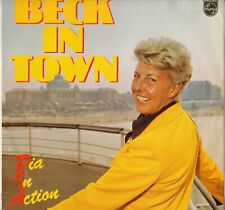 """PIA BECK """"BECK IN TOWN"""" PIANO VOCAL JAZZ LP PHILIPS 6423 122"""