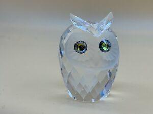 Swarovski Figur Kristall 046000 Eule 5,3 cm. Top Zustand