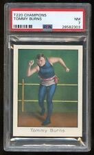 "1910 T220 Champions ""Tommy Burns"" PSA 7 NM #28582303"