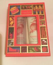 CRABTREE & EVELYN POMEGRANATE ARGAN & GRAPESEED BATH & BODY DUO LUXURY GIFT BOX