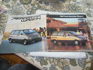 1986 & 1987 Ford Aerostar Dealer Brochure