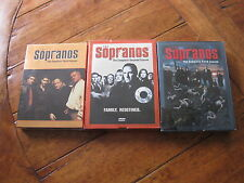 The Sopranos the complete season second-third and fifth dvd